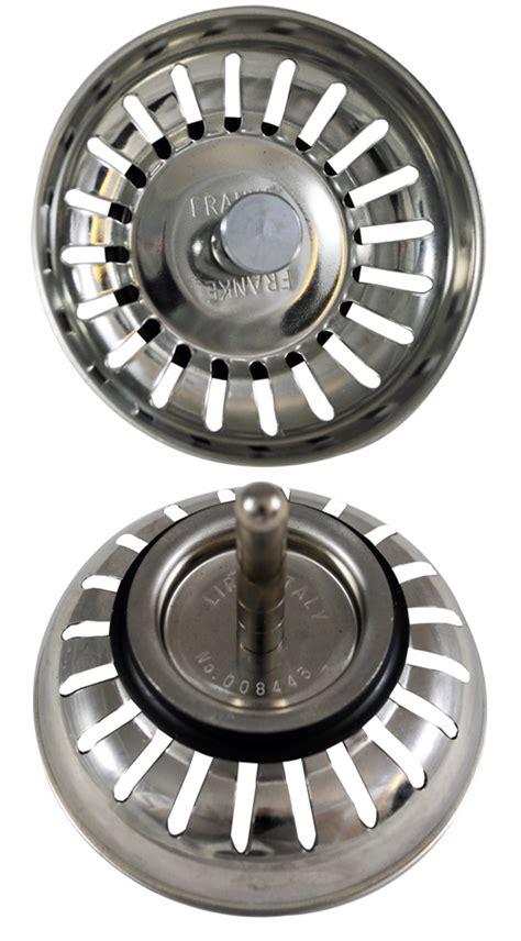 lira italy sink strainer 008445 franke lira basket strainer style 008445