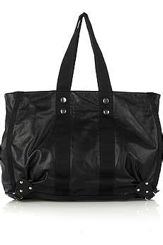 Bruno Athe Slouchy Tote black leather slouch bag