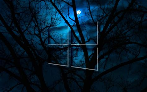 imagenes hd para pc windows 10 windows 10 hd moon night fondos de pantalla gratis para