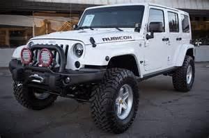 2014 jeep wrangler rubicon white