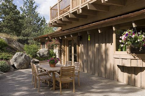 sted patio designs sted guest house patio rocky mountain homes