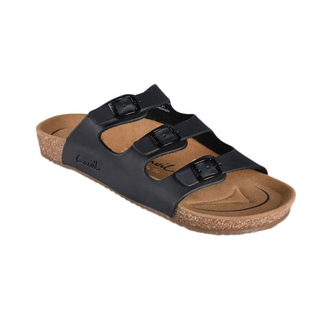 Carvil Sandal Falkland 02m Black jual carvil footbed falkland 03 sandals pria black