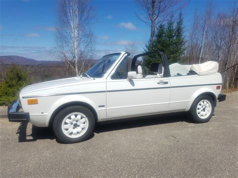 volkswagen rabbit convertible for sale feature listing 1983 volkswagen rabbit convertible
