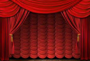 Fashioned elegant red theater stage drapes old fashio flickr