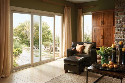 Living Room Patio Simonton Windows Doors Sliding Patio Doors