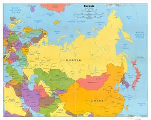 Outline Map Of Russia And Northern Eurasia by карты европы карта европы на русском языке