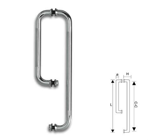 Glass Door Handles Uk Glass Door Handle 152mm Towel Rail 457mm Combotype 2 Chrome