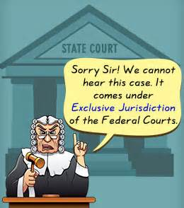 Judicial Fiat Definition Exclusive Jurisdiction Exle