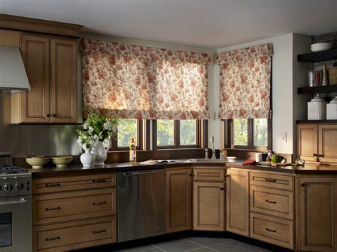 kitchen shades kitchen eye catching kitchen roman shade combined with
