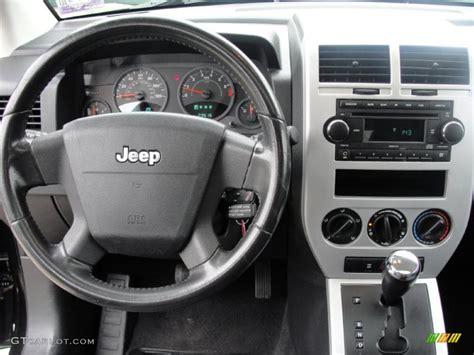 jeep compass dashboard 2008 jeep compass rallye dark slate gray dashboard photo