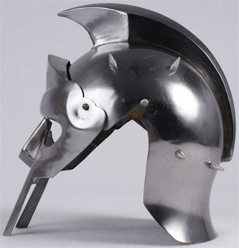 gladiator film helmet russell crowe signed gladiator quot maximus quot full size roman