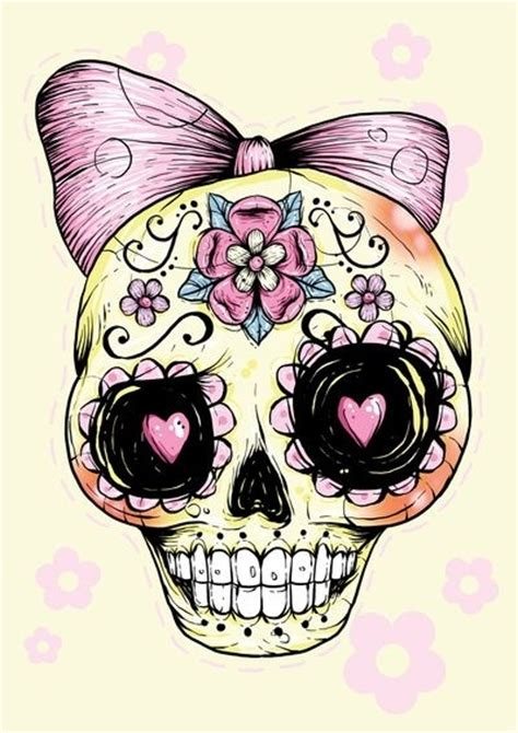 cute and girly 29 downright awesome sugar skulls you re