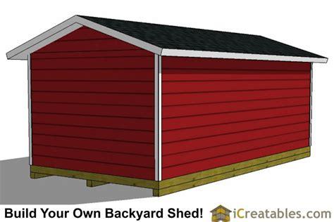 backyard large shed plans icreatablescom