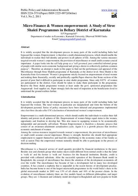 research papers on empowerment research on empowerment