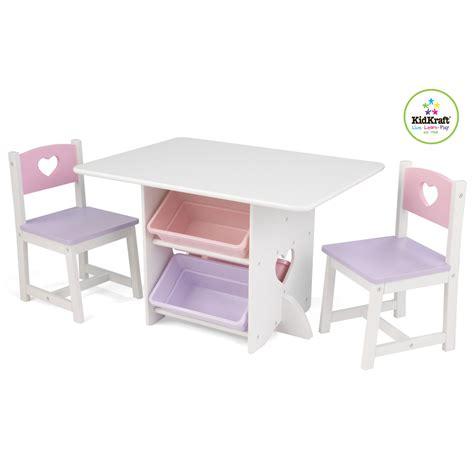 tavolo e sedia per bambini kidkraft 26913 set tavolo e sedia per bambini con