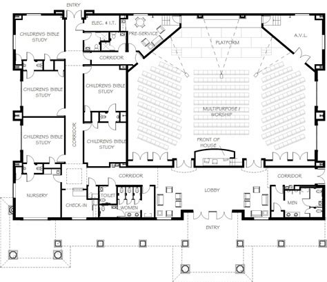 Home Design Amazing Church Designs And Floor Plans Church Modern Church Floor Plans Designs