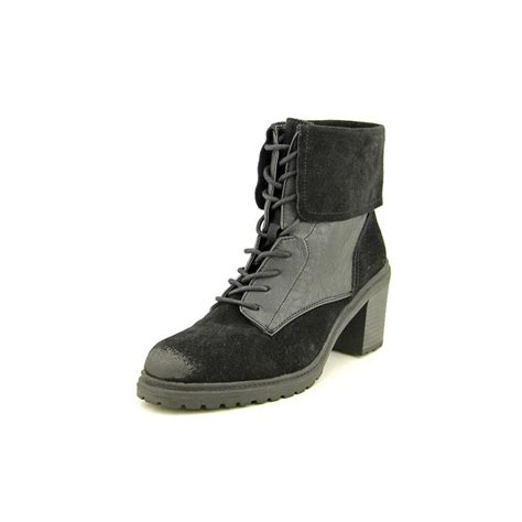 kenneth cole reaction rocky me suede black ankle