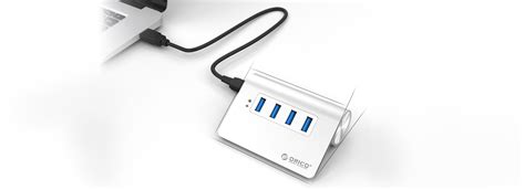 Best Buy Orico Usb 30 To Usb 30 Usb Noodle Cable Adapter 15 orico aluminum 4 port usb 30 hub m3h4 price in pakistan