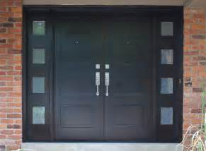 Design House Hardware For Doors Modern Front Entry Doors In African Mahogany Chad Womack