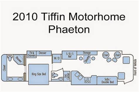 phaeton qbh floor plan 2010 tiffin phaeton qbh photos details brochure floorplan