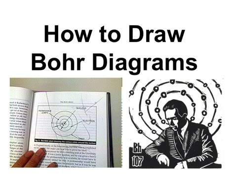 how to draw a bohr diagram how to draw bohr diagrams slideshare