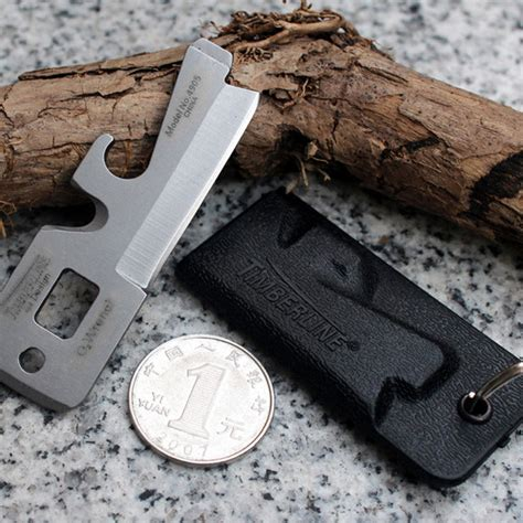 Solid Wallet Edc 11 In1 Multi Purpose Self Defense Se Diskon timberline edc survival knife multifunction tool black jakartanotebook