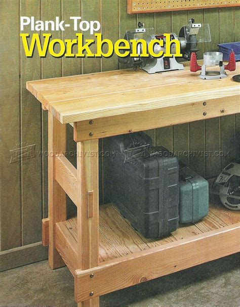 heavy duty work bench plans heavy duty workbench plans woodarchivist