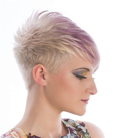 blonde hairstyles uk a short blonde hairstyle from the syran john hairdressing