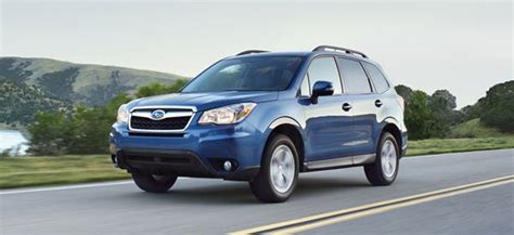 when does subaru release new models when does the 2014 subaru forester come out autos weblog