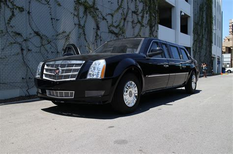 The Beast Presidential Limo by Driving The Cadillac Presidential Limo From White House