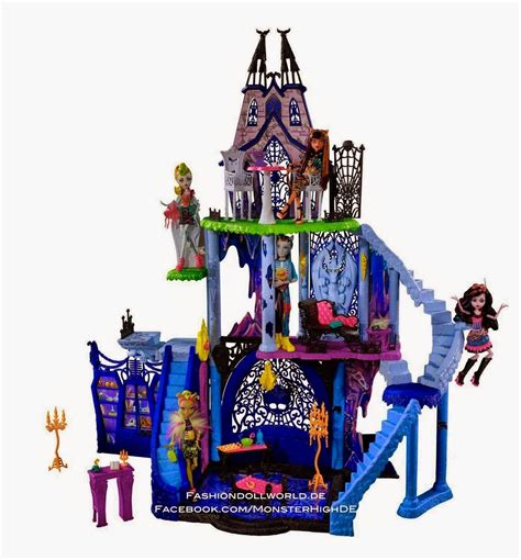 toys r us monster high doll house minha catacumbas freak fusion das monster high youtube
