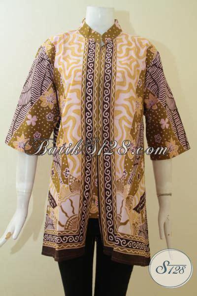 Baju Batik Perempuan Dewasa baju batik perempuan muda dan dewasa motif klasik busana batik lengan tiga perempat motif