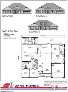 Adam Homes Floor Plans by Oak Hill Estates Adams Homes
