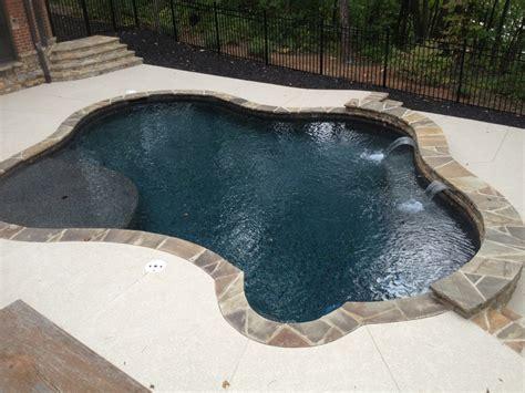 Pebble Tec Patio by Black Marble Pebble Tec Rcs Pool And Spa Gunite Pools