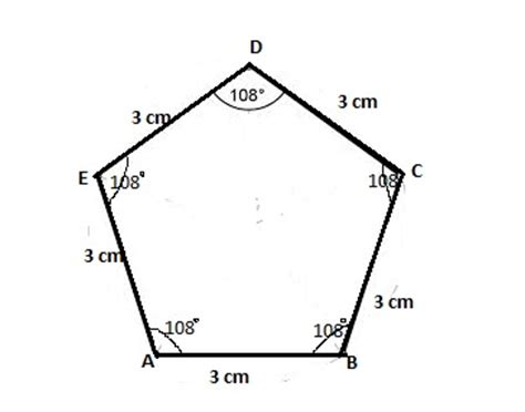 how to construct a pentagon draw a regular pentagon and construct a square with area