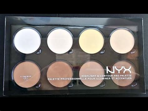 Nyx Contour Kit nyx highlight contour pro palette vs ulta contour kit