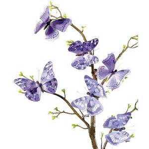 schmetterling dekoration deko deko schmetterlinge 10 cm lila dekoration bei