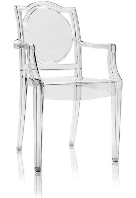 sgabelli trasparenti sedia ghost trasparente policarbonato con braccioli la16
