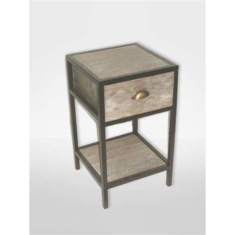 Table Hauteur 60 Cm by Table De Chevet 35x35 Cm Loft Hauteur 60 Cm Achat