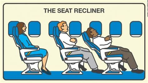 No Recline Seats On Plane by