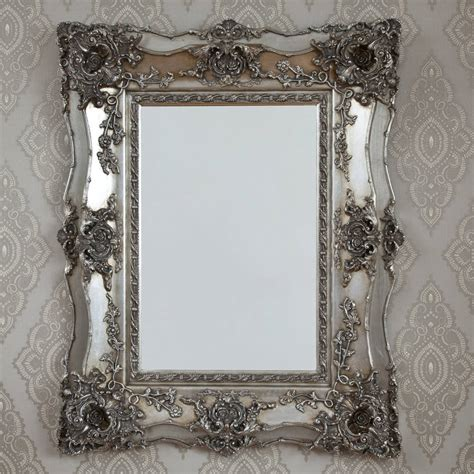 decorative mirrors online vintage ornate silver decorative mirror by decorative