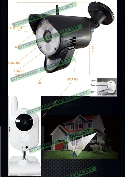 diy home security cameras alarm system cctv wifi mobile