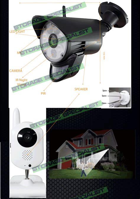 diy home security cameras alarm system cctv wifi mobile