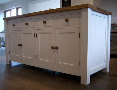 solid wood kitchen islands ikea free standing kitchen cabinets reclaimed oak