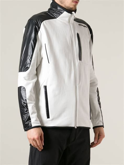 porsche design clothes uk porsche design zipped jacket in white for men lyst