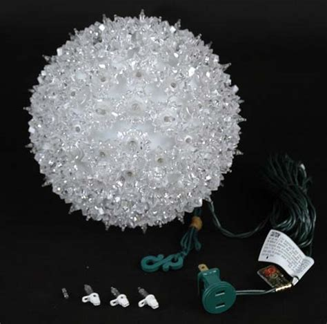 7 5 quot starlight sphere 100 light clear christmas lighted ball