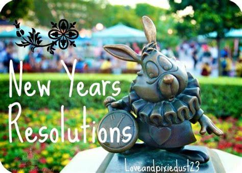 disney adventure new years resolutions