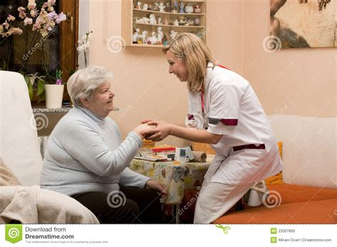 home visit doctor with senior stock photo image 23307890
