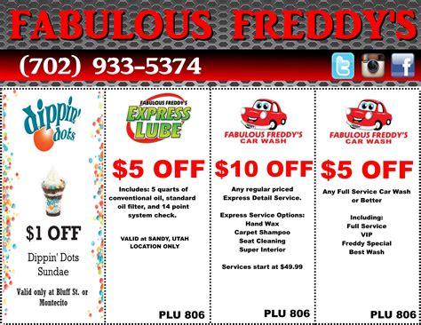 printable vouchers las vegas take advantage of our fabulous coupons fabulous freddy s