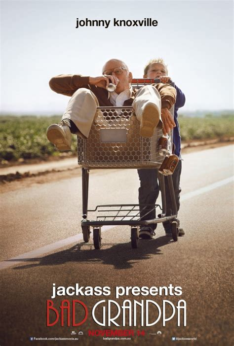 Jackass Presents Bad Grandpa 2013 Full Movie New Jackass Presents Bad Grandpa Poster Capsule Computers